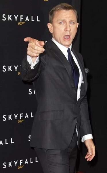 Daniel Craig assure le show