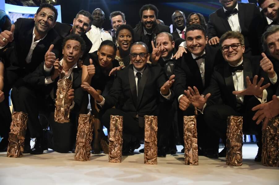Les lauréats des César 2015
