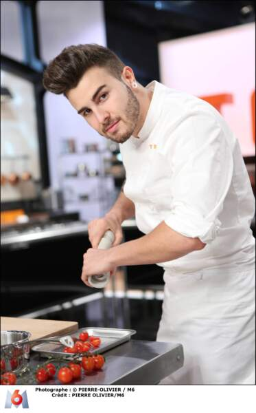 Kevin D'Andrea, 23 ans, Juan Les Pins - sous-chef à la Passagère, Hôtel Belles Rives