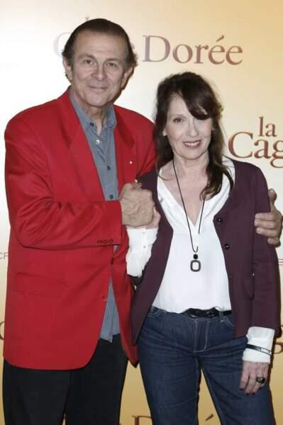 Roland Giraud et Chantal Lauby