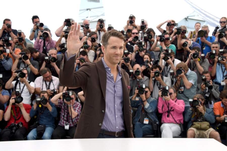 Ryan Reynolds le photogénique