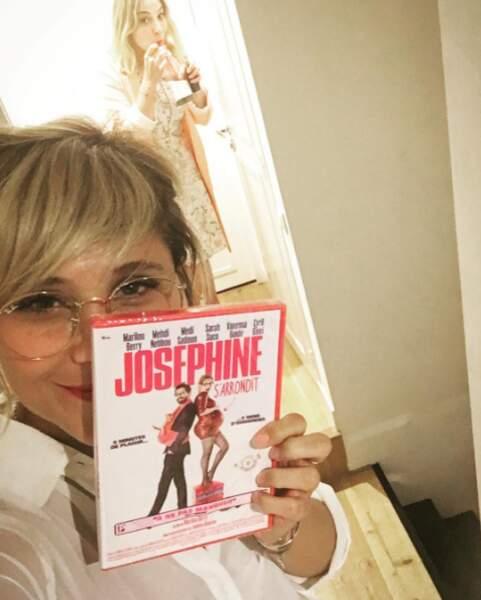 Elle a déjà joué dans la comédie Joséphine