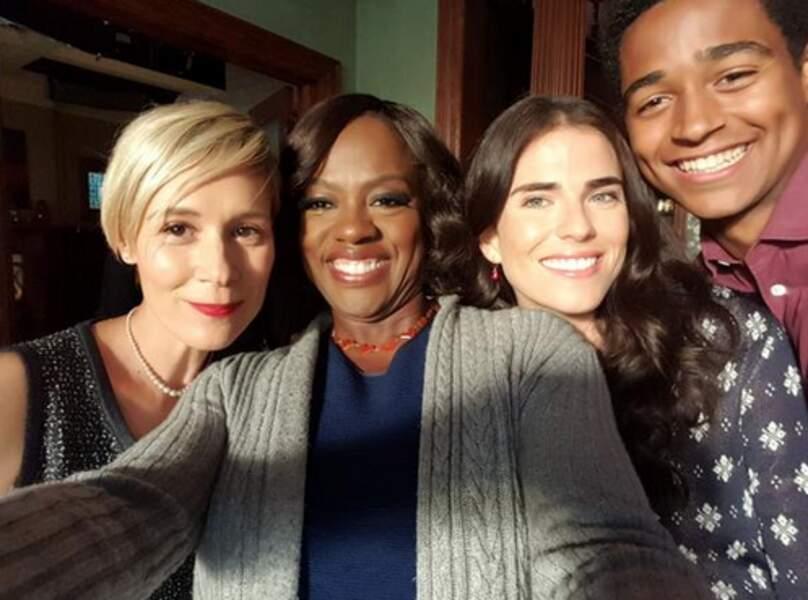Les acteurs adorent les selfies, c'est bien connu