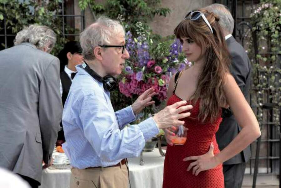 Non Woody Allen, les seins de Penélope Cruz ne sont pas des jouets !