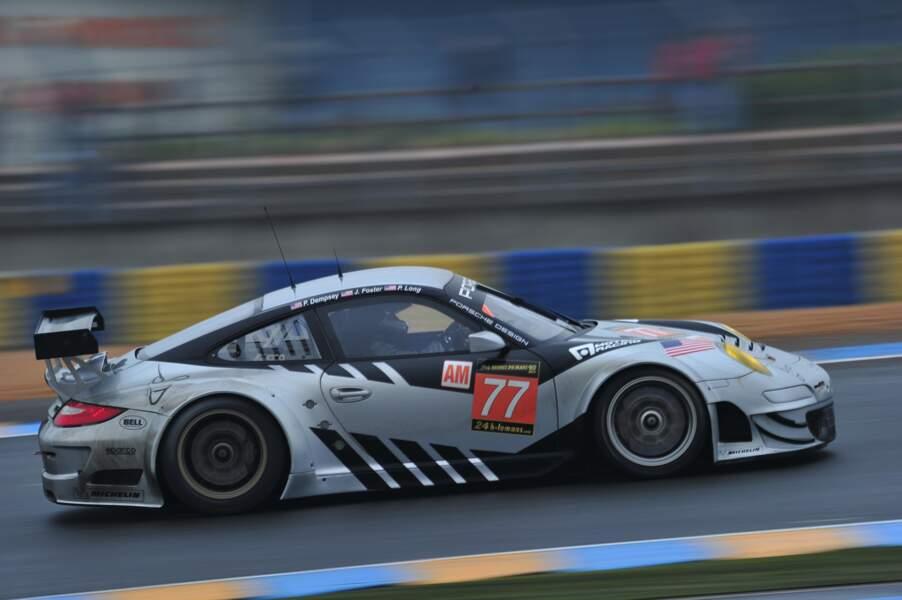 Essais de Patrick Dempsey aux 24 Heures du Mans