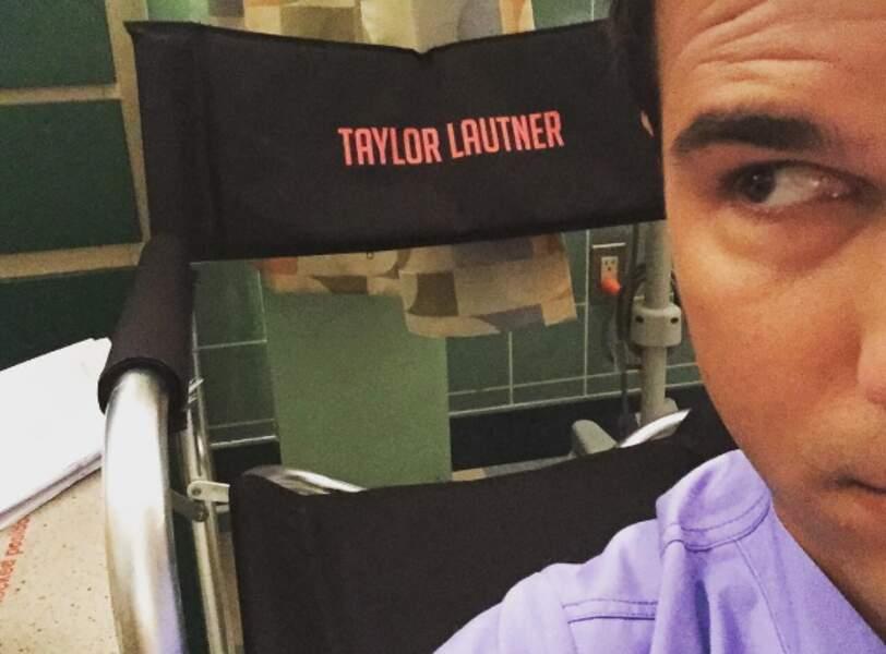 Taylor Lautner aussi est de la partie, avec un nouveau personnage
