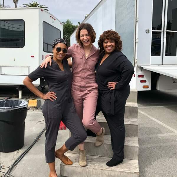 Instant fashion dans Grey's Anatomy : les actrices raffolent des combinaisons !