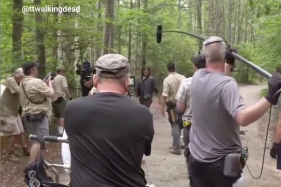 Pourtant, Rick (Andrew Lincoln) et Daryl (Norma Reedus) ont tourné leurs dernières scènes ensemble