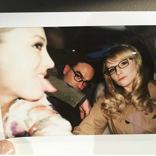 Et enfin, Kaley Cuoco (The Big Bang Theory) est nostalgique d'un tournage