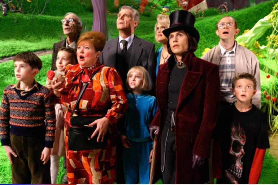 Charlie et la chocolaterie (2005) : quand Tim Burton adapte le livre de Roald Dahl