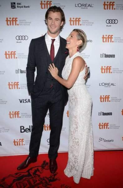 Elsa Pataky très amoureuse de Chris Hemsworth