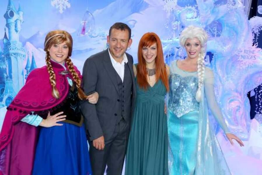 Dany Boon et Anaïs Delva, les voix de La Reine des neiges