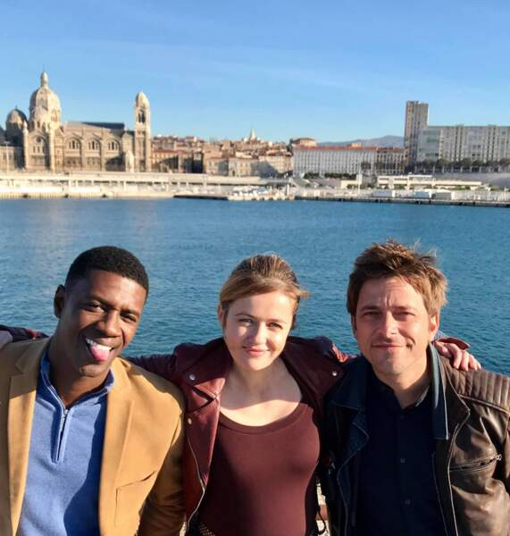Le nouveau trio de Caïn : David Baiot, Julie Delarme et Julien Baumgartner, le dernier venu dans la bande