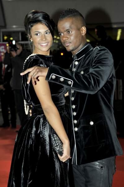 Black M à son arrivée au Palais des festivals de Cannes