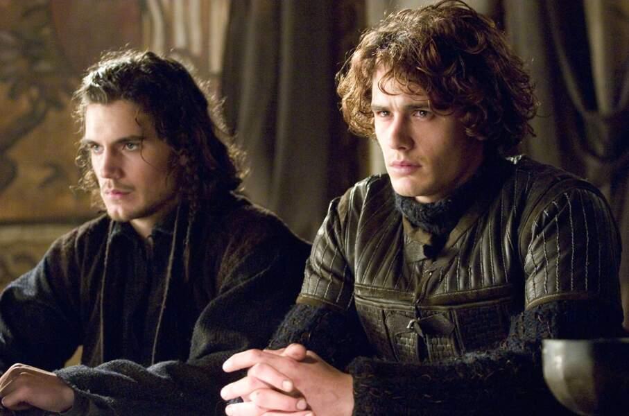 Au côté de James Franco dans Tristan et Yseult (2006)