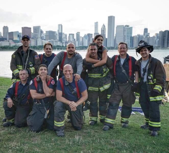 Photo de groupe : les acteurs de Chicago Fire sont au diapason…