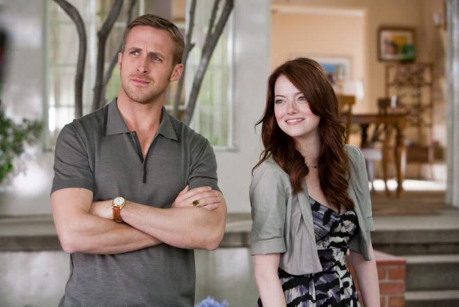 Aux côtés de Ryan Reynolds dans la comédie romantique chorale Crazy, Stupid, Love (2011)