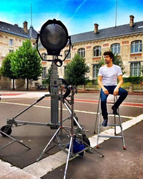 Augutsin Galiana, l'interprète d'Adrian, attend patiemment que le tournage de la saison 7 de Clem reprenne