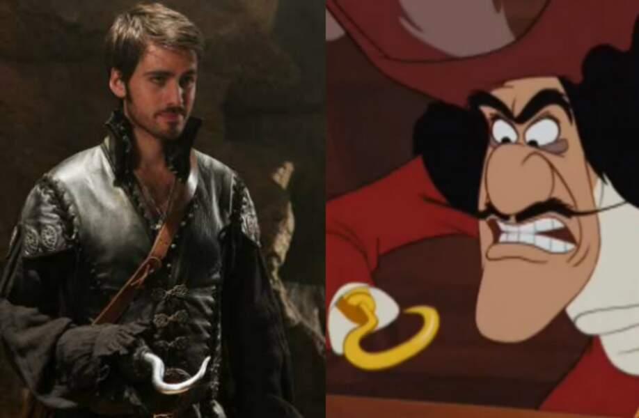 Capitaine crochet (Peter Pan)