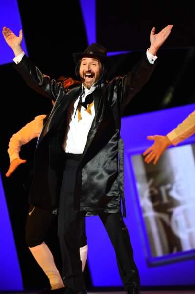 Edouard Baer, lui, avait revêtu le costume de Rabbi Jacob… et a fait un bide assumé