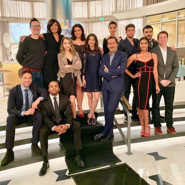 Voici l'équipe de Grand Hotel, qui sera diffusée à l'été 2019 sur la chaîne américaine ABC
