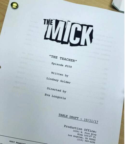 Eva Longoria s'essaie à la réalisation pour la série The Mick…