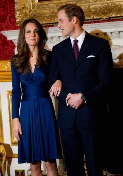 2010 : Kate et William annoncent leurs fiançailles
