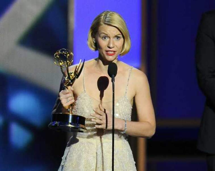 Claire Danes : meilleure actrice dans une série dramatique pour Homeland