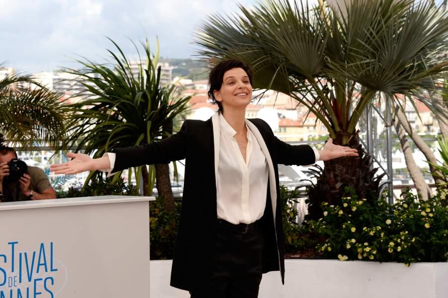 Juliette Binoche est venue présenter le film Sils Maria, d'Olivier Assayas