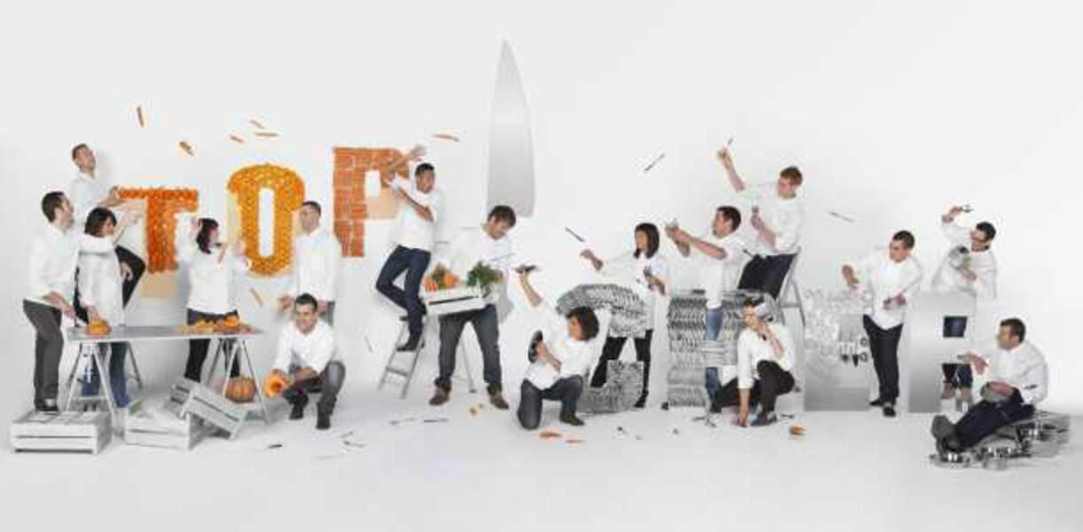 Les candidats de Top Chef - saison 4
