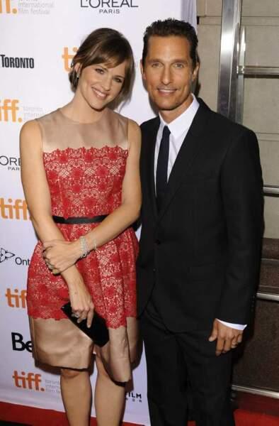 Jennifer Garner et Matthew McConaughey