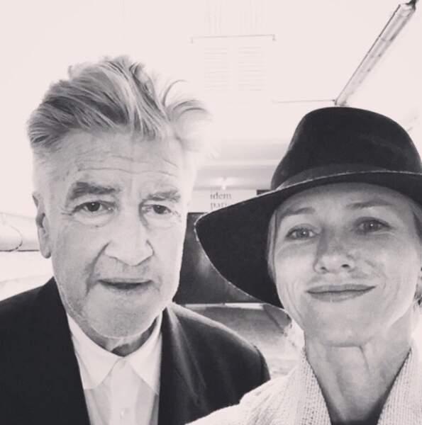 Un selfie avec David Lynch. La classe !