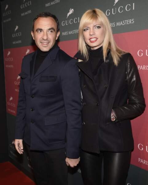 Nikos Aliagas et Tina Grigoriou, sa compagne