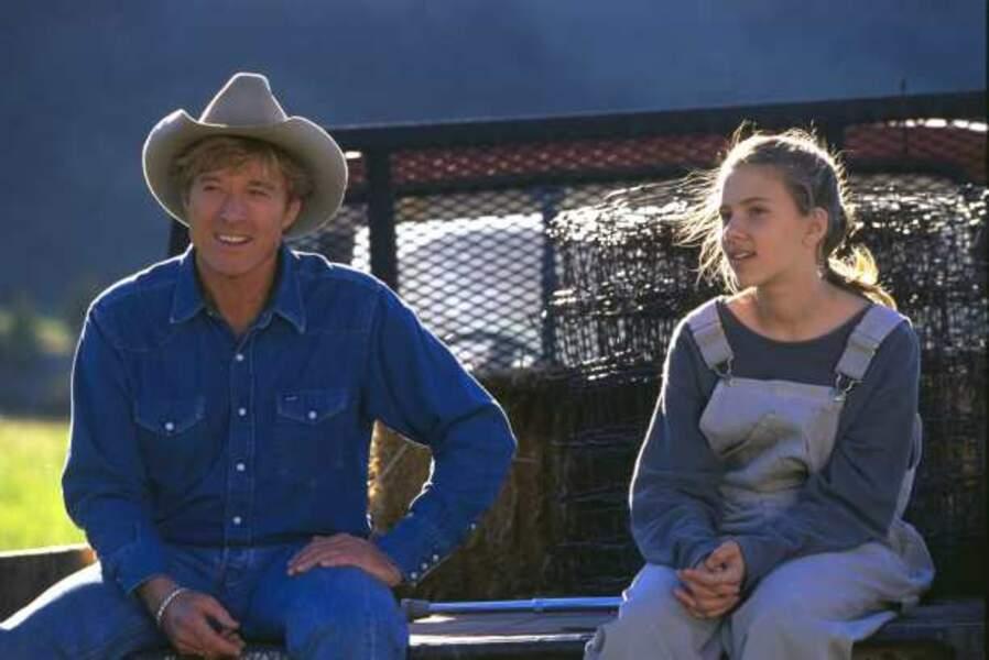 ... À l'âge de 14 ans on la découvre dans L'homme qui murmurait à l'oreille des chevaux (1998)