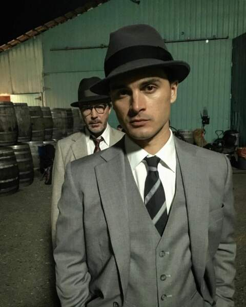 Michael Malarkey, alias Michael Quinn dans Project Blue Book, est fin prêt pour le tournage de la saison 2