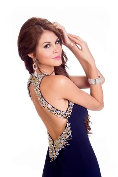 Jimena Espinosa, Miss Peru 2014