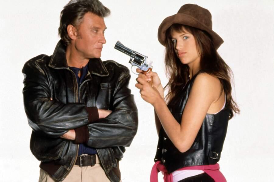 LA GAMINE (1991) - Un premier rôle aux côtés de Johnny Hallyday. Un four.
