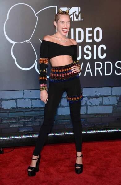 La provocante Miley Cyrus au MTV Music Awards (2013)