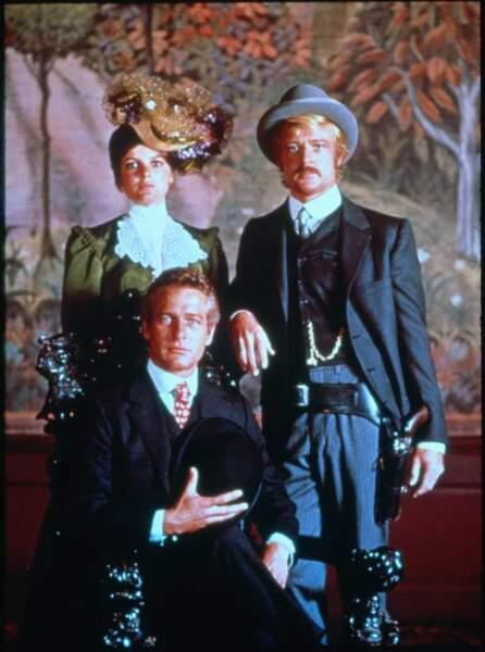 Butch Cassidy et le Kid, de George Roy Hill (1969). Avec Paul Newman et Katharine Ross