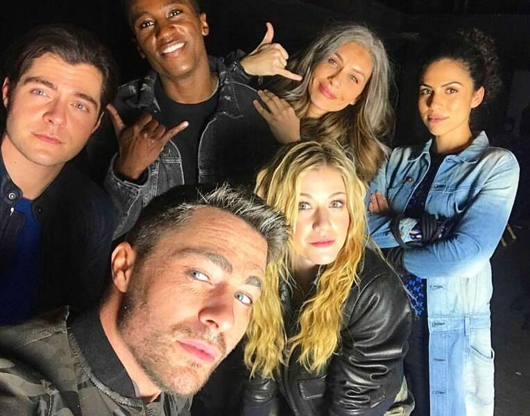 Les acteurs de Arrow sont capables de… sourire