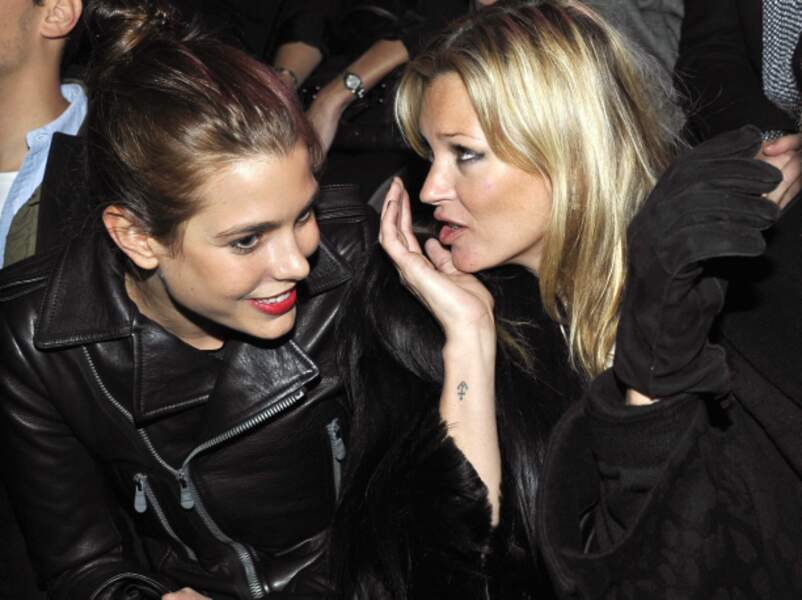 Charlotte avec Kate Moss en 2011