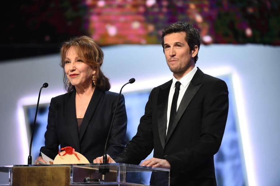 Le prix de la meilleure réalisation a été remis par Nathalie Baye et Guillaume Canet