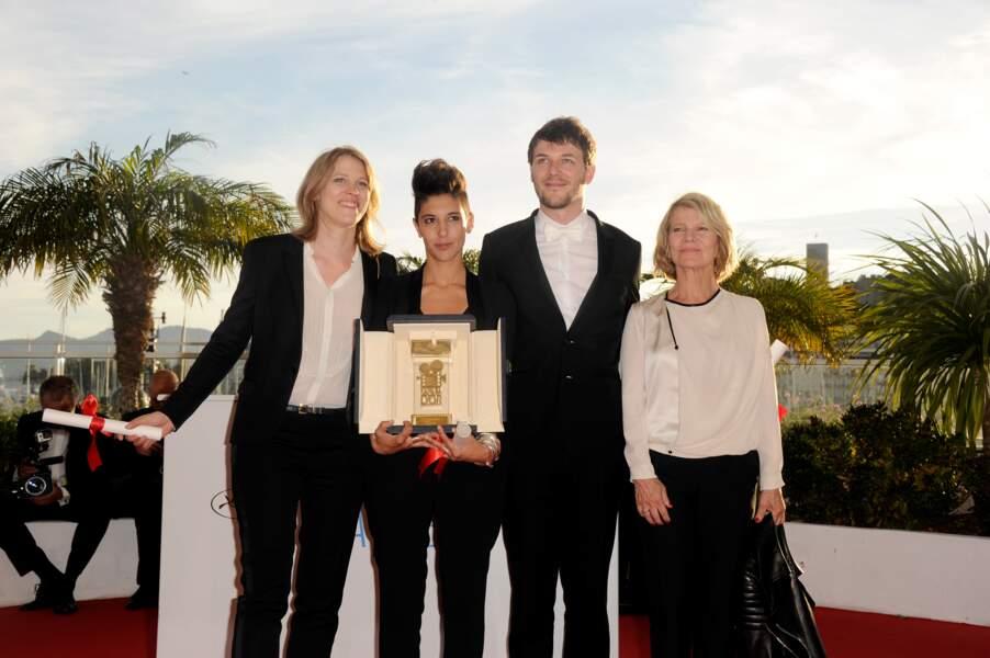 Claire Burger, Maria Amachoukeli, Samuel Theis, Caméra d'or pour Party Girl