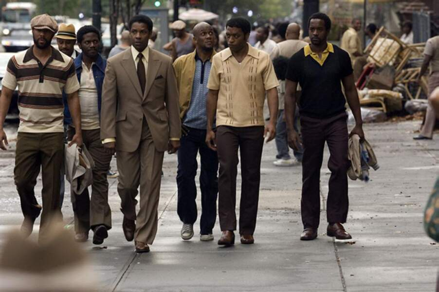 American Gangster (Ridley Scott, 2007) : avec Denzel Washington et Chiwetel Ejiofor