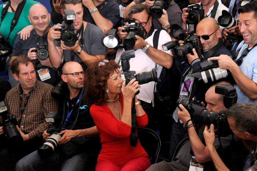 Sophia Loren n'est pas en reste !