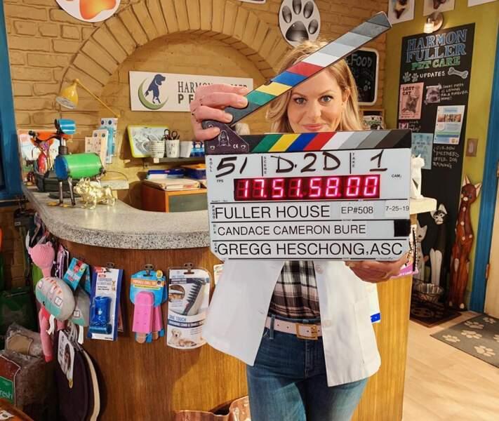 Candace Cameron a changé de rôle pour la dernière saison de Fuller House : elle a réalisé un épisode