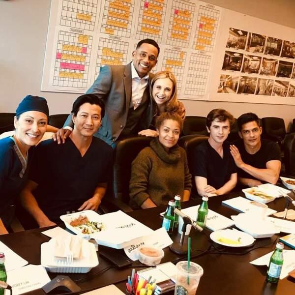 Christina Chang veut retrouver ses partenaires pour le tournage de Good Doctor, renouvelée pour une saison 3