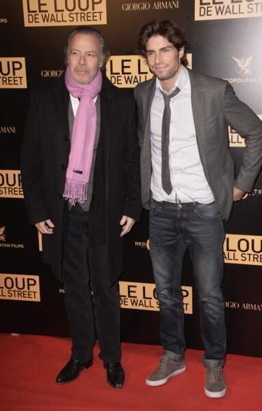 Michel Leeb et son fils Tom