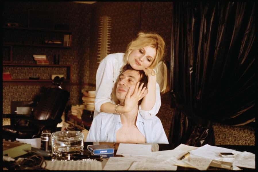 Tout comme le personnage de Bardot dans Gainsbourg, vie héroïque