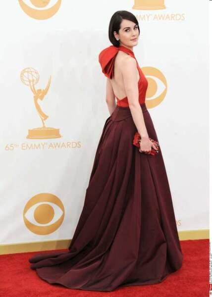 Michelle Dockery est sortie de Downton Abbey le temps d'assister aux Emmy Awards